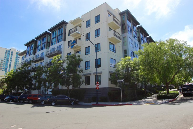 Five story condominium compound at Aloft in Downtown San Diego CA