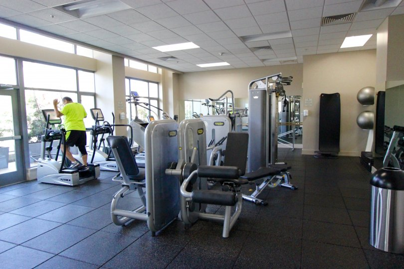 Located in Downtown San Diego, Alta, California a Very Nice indoor gym