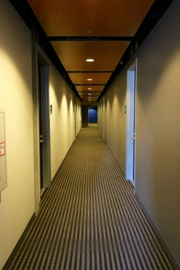 Corridor of amazing APERTURE downtown san diego california