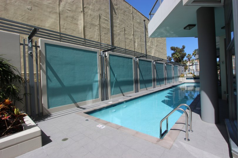 Lap pool in the Aria community Downtown San Diego California