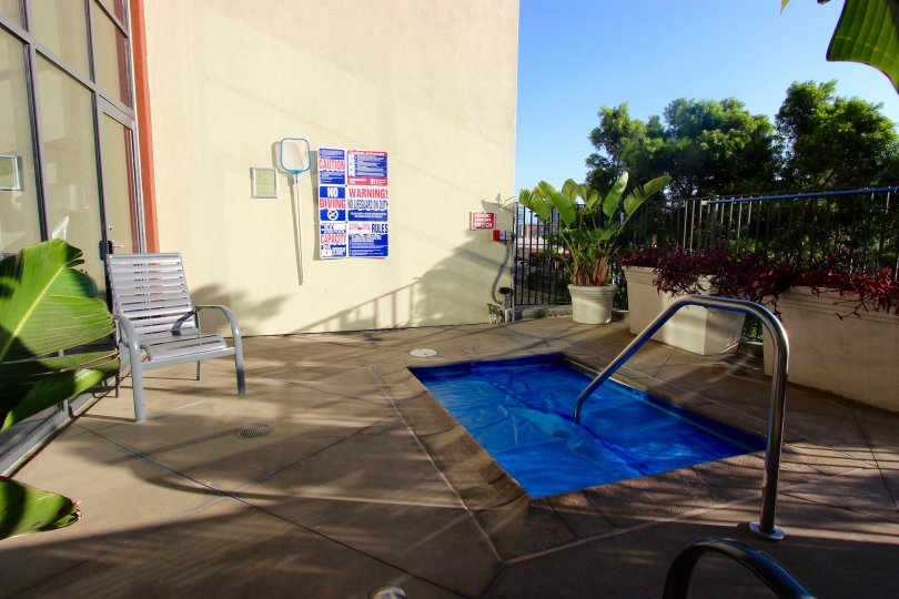 Private pool located on the west side of our complex