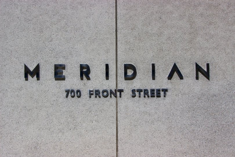 Meridian 700 front street stone in downtown san diego california