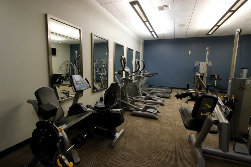 A state of the art physical fitness center located in San Diego, California