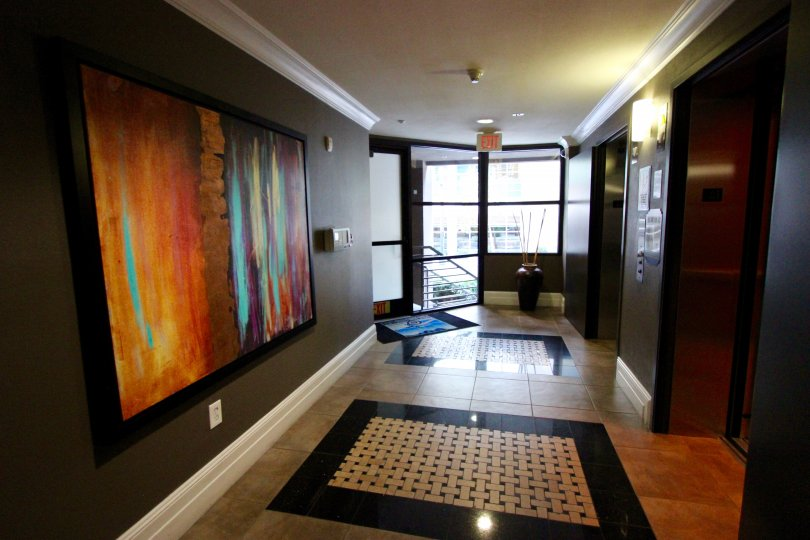 A modern and furnished apartment in the Park Blvd East community of Downtown San Diego.