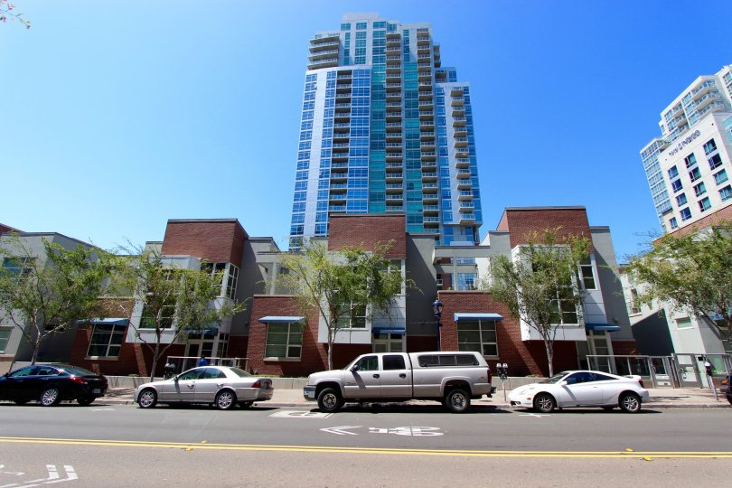 Parkloft San Diego California streetview highrise urban city