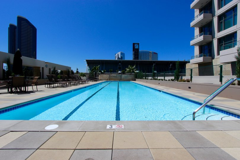 Gorgeous clear pool to enjoy on the lovely days at Pinnacle.