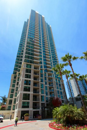 Epic skyrise: The Grande in Downtown San Diego, California.