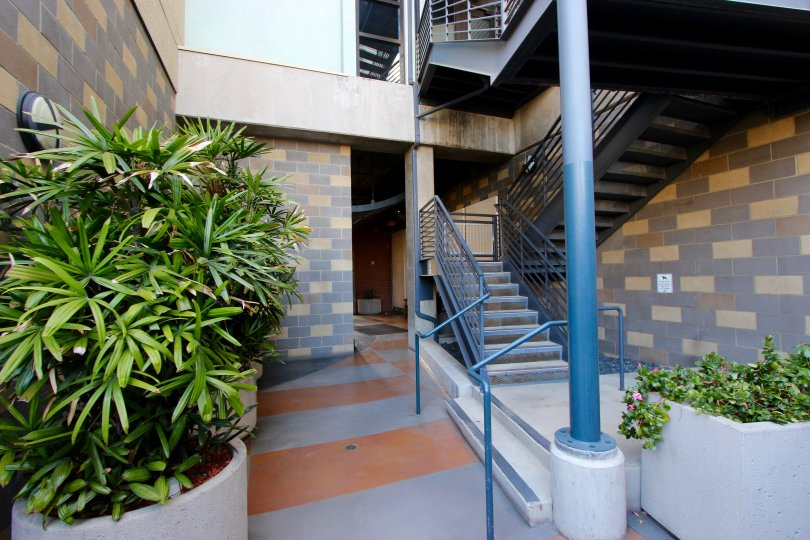 The Lofts @ 777 Sixth in Downtown San Diego: Winding Staircase