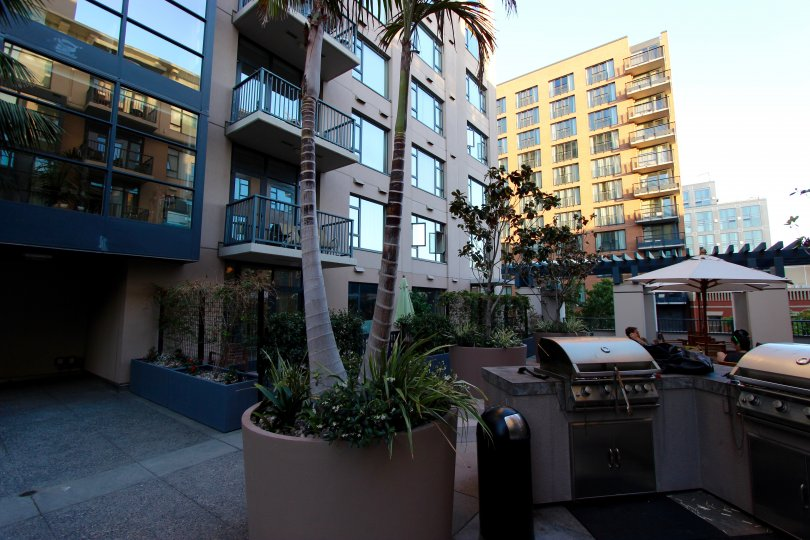High class building view of trells community located at Downtown San Diego, California