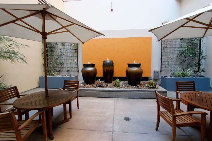 The eatery area in the Trellis community building in Downtown San Diego CA