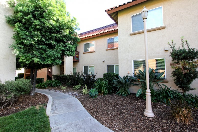 Two Story Multi-family Apartment in El Cajon, California