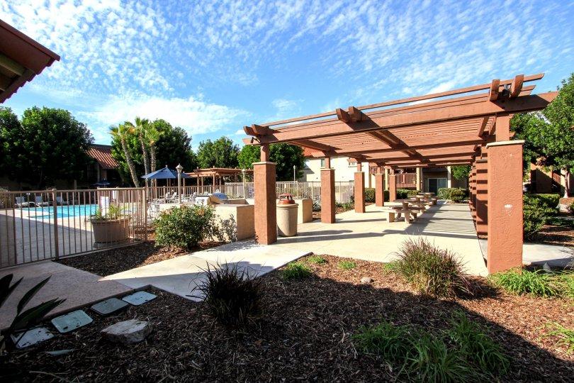 Beautiful and amazing pool in Artesia community california