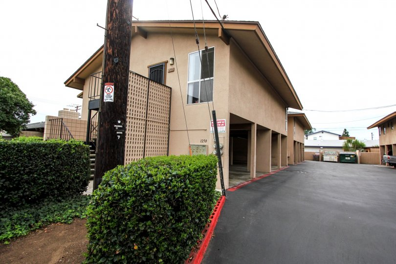 A photograph of a condominium in Barbara Terrace - El Cajon California