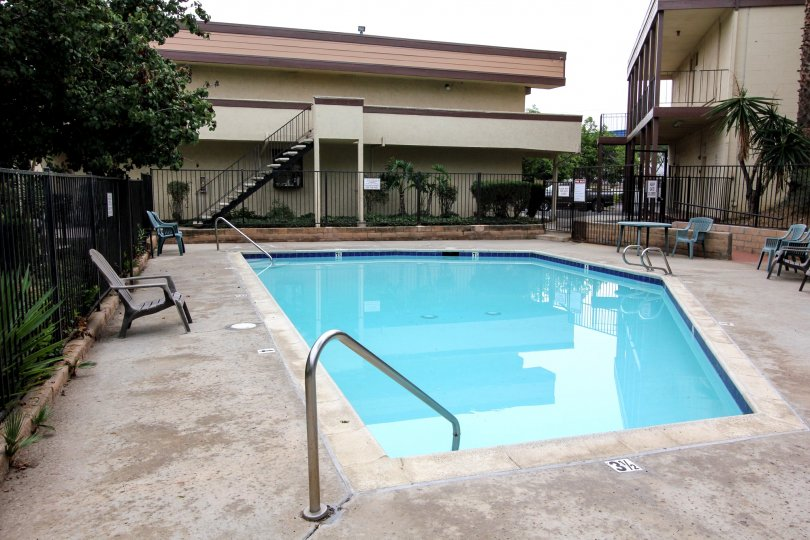 Community Swimming Pool, Bradley Condos, El Cajon, California