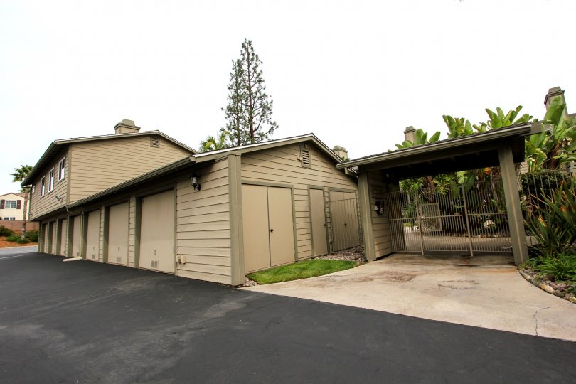 Secure gated access and plenty of private storage at the Broadway Timbers in El Cajon, California