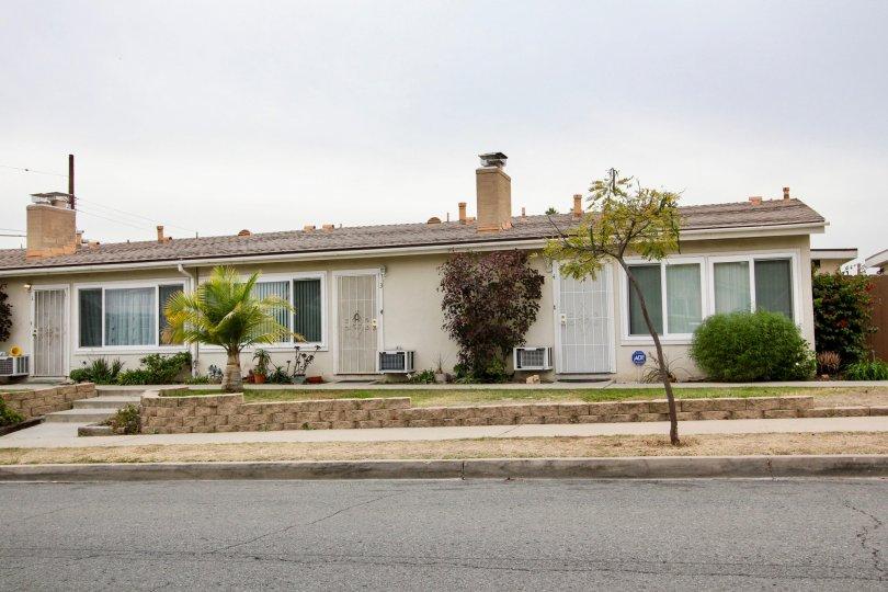 Single story home near street at Cuyamaca in El Cajon California