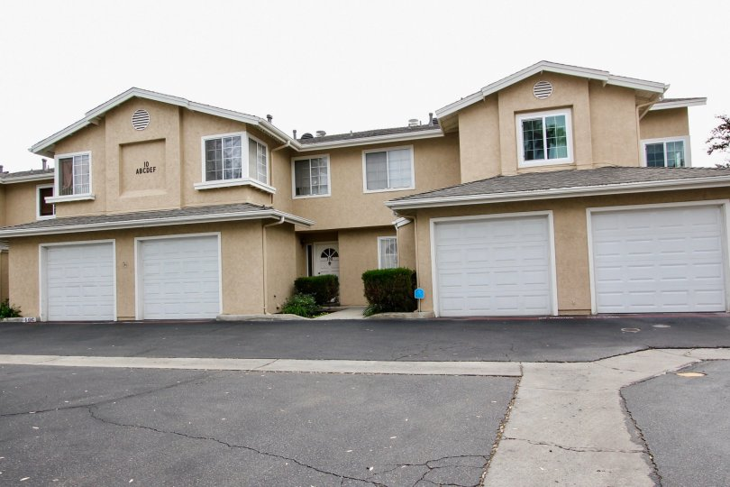 Overcast weather at Dover Place in El Cajon, California