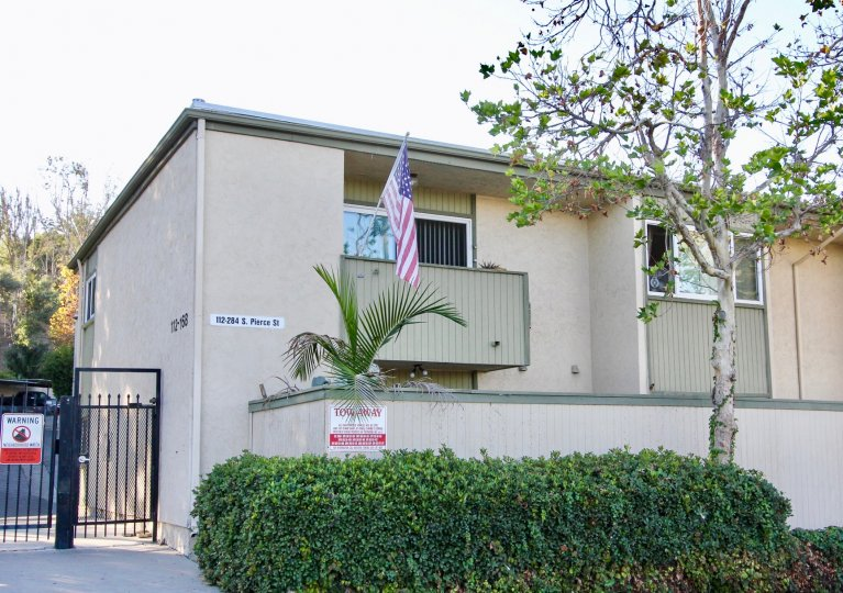 Two story units with American flat at Grossmont Terrace in El Cajon CA