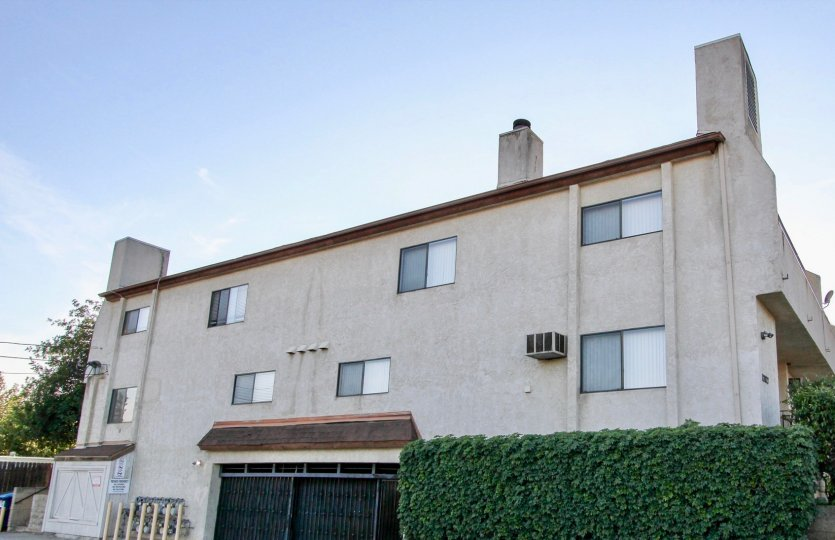 Three story residential units with fireplaces at Palaie Royal in El Cajon Caliofrnia