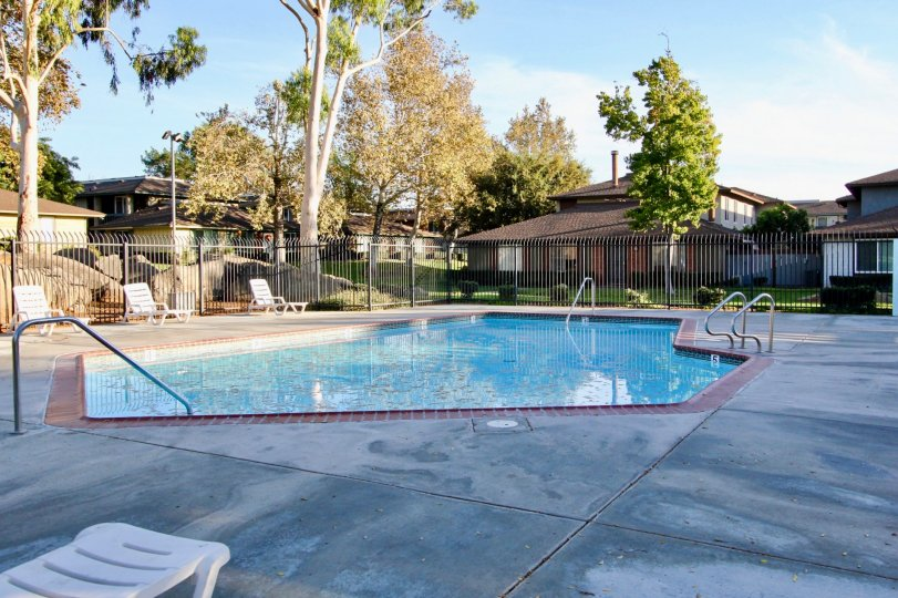 Beautiful pool and location of Pepper drive estates