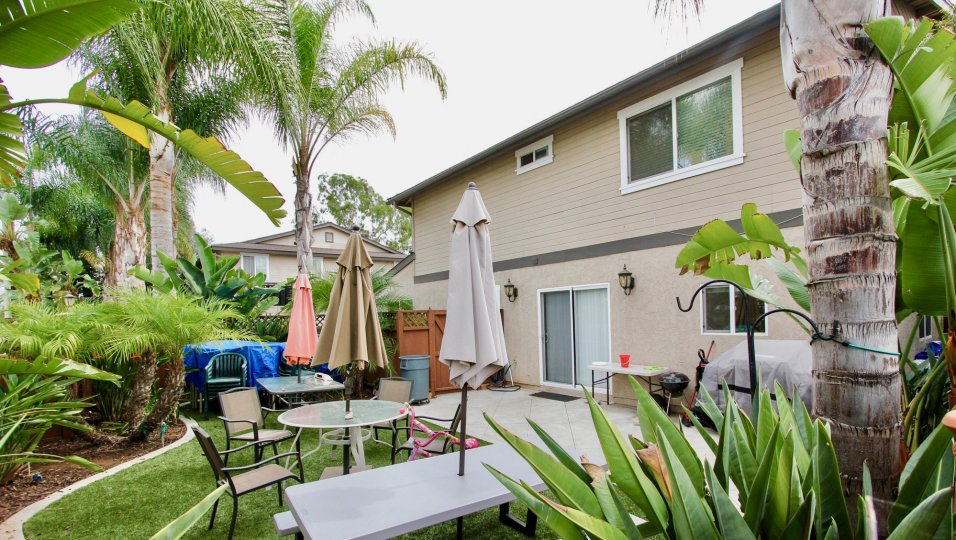Two story apartment complex at Persimmon Place in El Cajon California