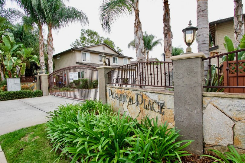 A photograph of townhouse in Persimmon Place - El Cajon California