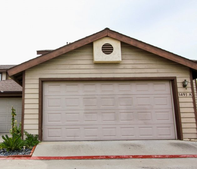 Garages attached to home at Rancho Granite Hills in El Cajon California