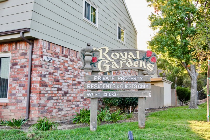 Royal Gardens, City: El Cajon, Royal Gardens, private property