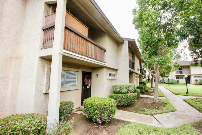 Two story condo compound inside Villa Madera in El Cajon CA