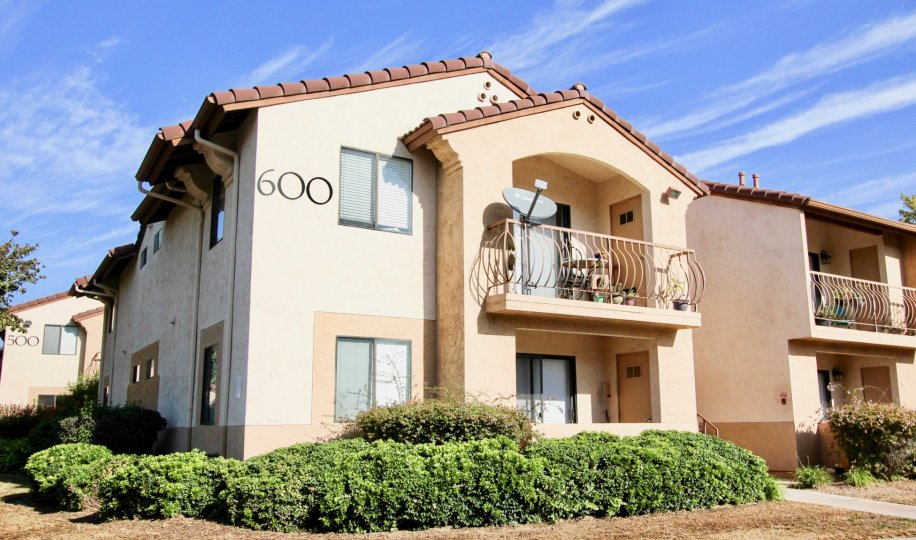 Two story residential units at Villa Montevina in El Cajon California