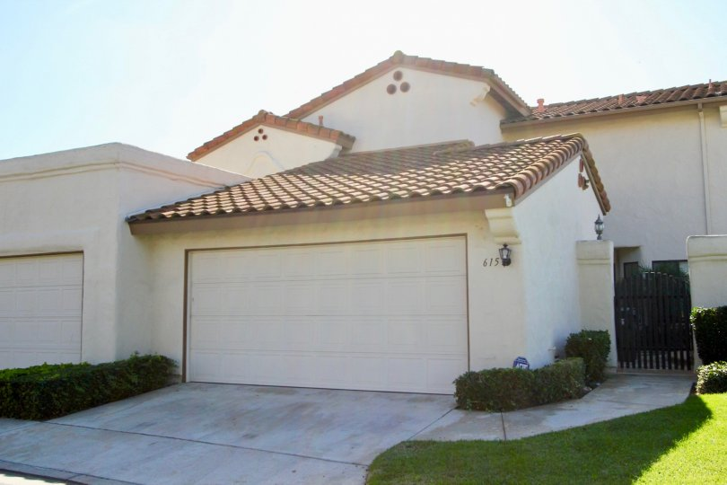 Residence with security gate and yard at Allegro in Escondido California
