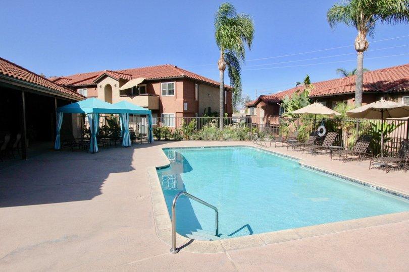 Beautifully Made Pool Area of Artesia, Escondido, California