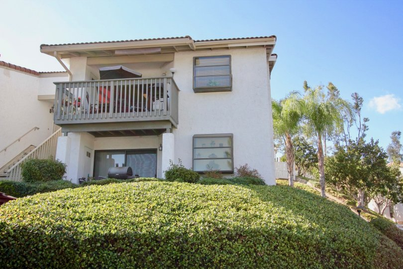 White Two Story Apartment complex in Escondido, California in Bernardo Hills