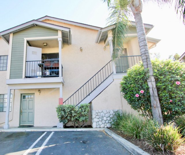 A duplex house located in California State, Escondido City and Brighton Village Community.