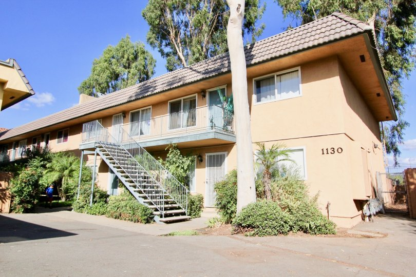 Building 1130 of Broadway Pines apartments in Escondido, California