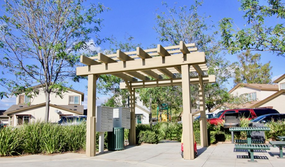 Resident Mailboxes at Brotherton Square in Escondido California
