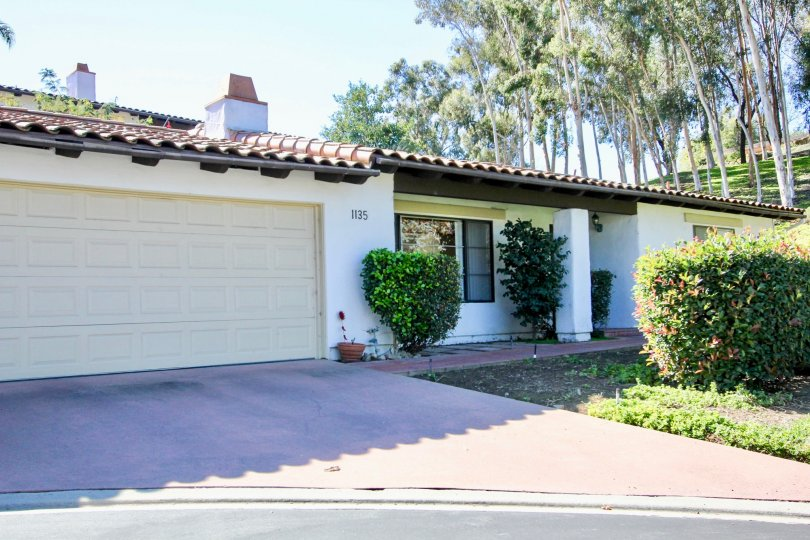 Home with driveway and yard at Buena Venture in Escondido California