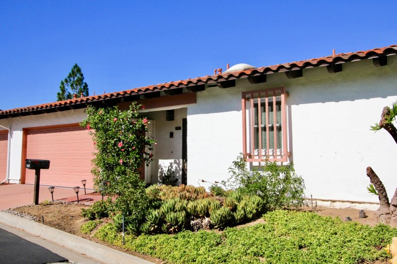 The outside of a home in Buena Ventura community located in Escondido CA