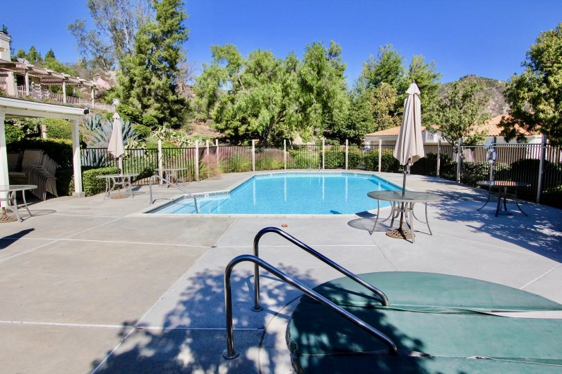 California Escondido Castle Creek Villas Apartment Community pool