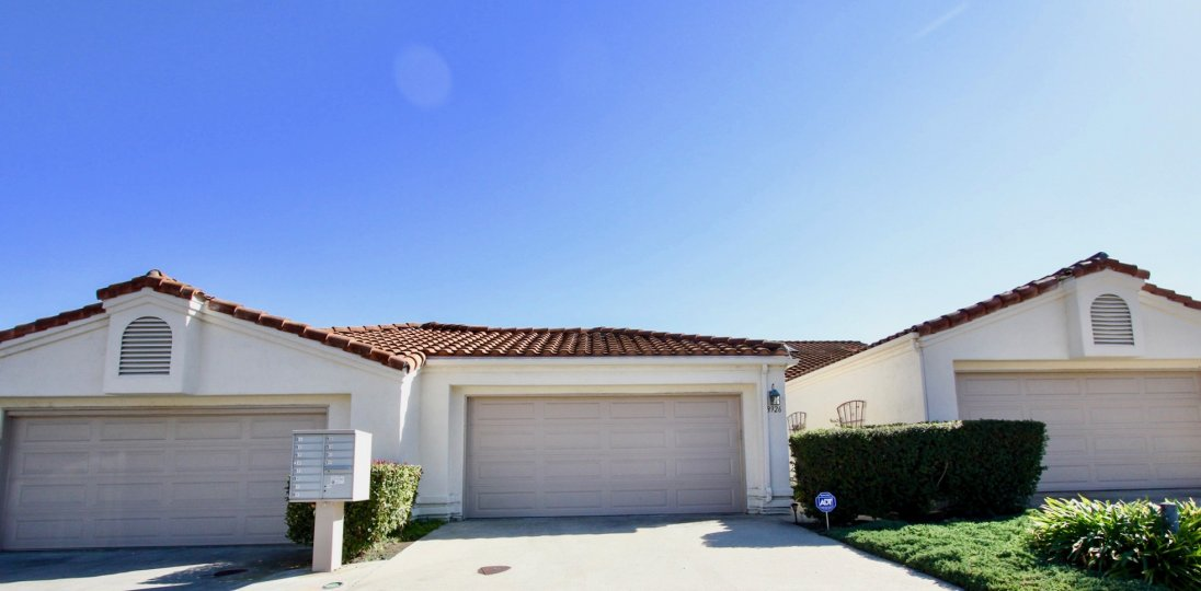 Castle Creek Villas Home in Escondido, California with large driveway and large garage