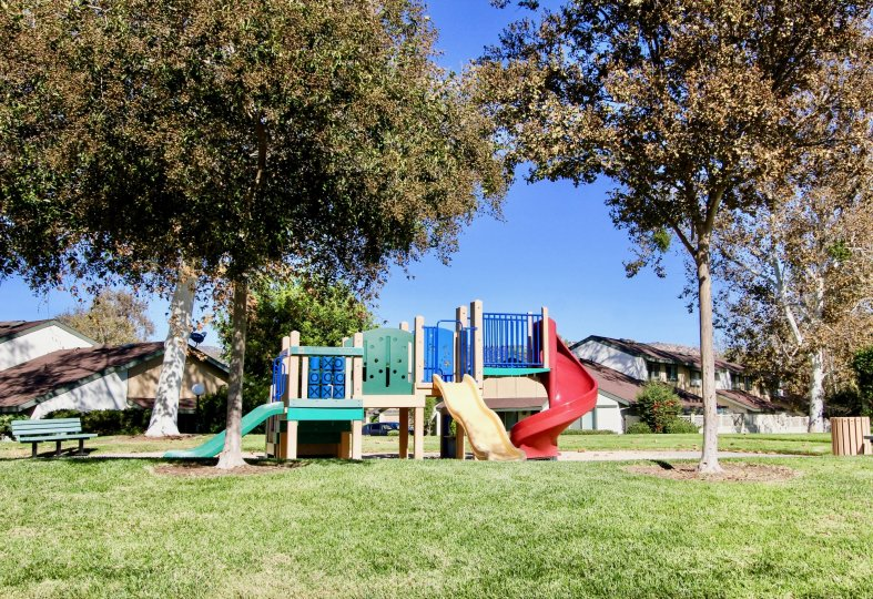 Playground atEscondido Hills Community in Escondido California