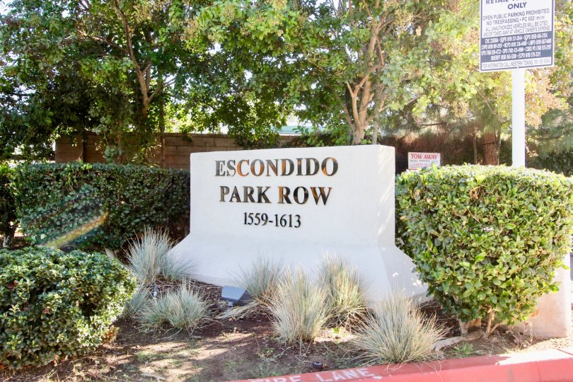 Escondido Park Row located in Escondido, California
