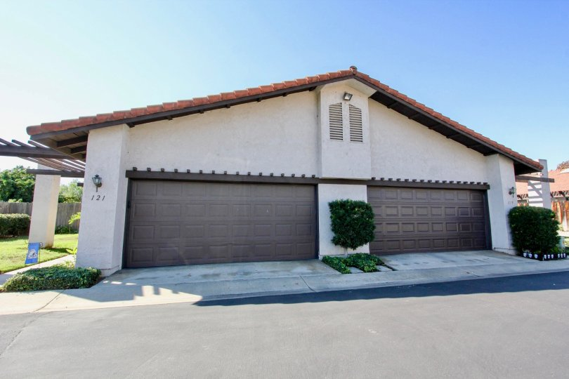 A streetview of a Heather Glen Duplex in Escondido, California