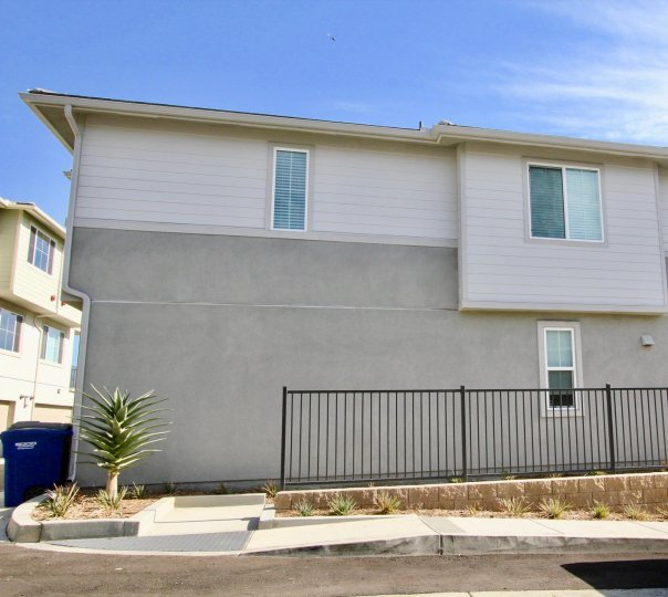 Level Fifteen  ,Escondido,California, grey building, rectangle windows