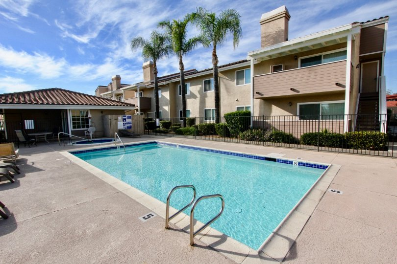 Weekends are made for enjoying the pool and hot tub at Mountain View Villas.