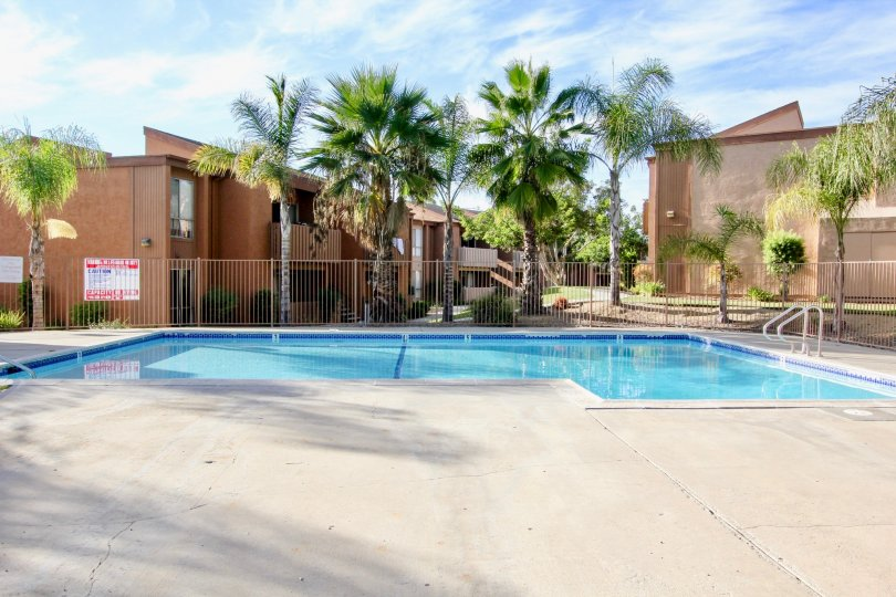 Community at Rock Springs East provides residences with a pool to enjoy.