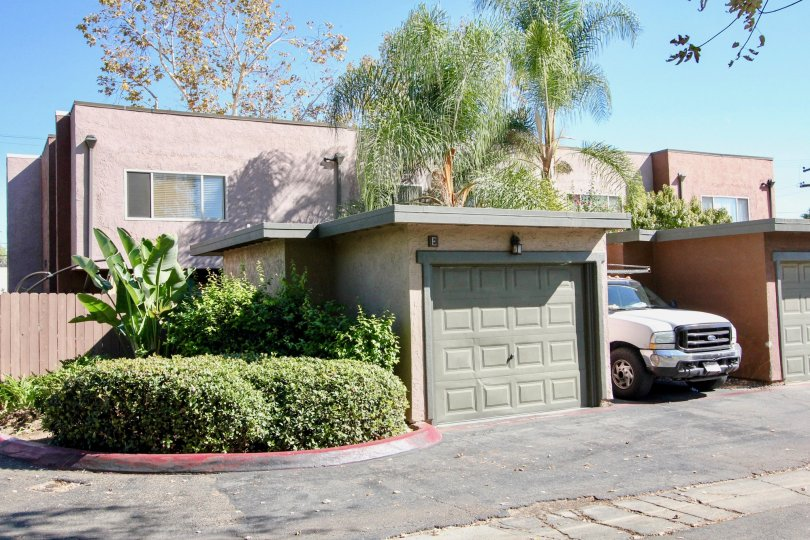 front garage view of Sommerset woods in escondido california