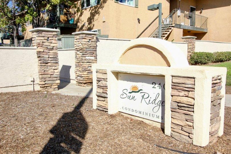 Sun Ridge Condominiums Community in Escondido California