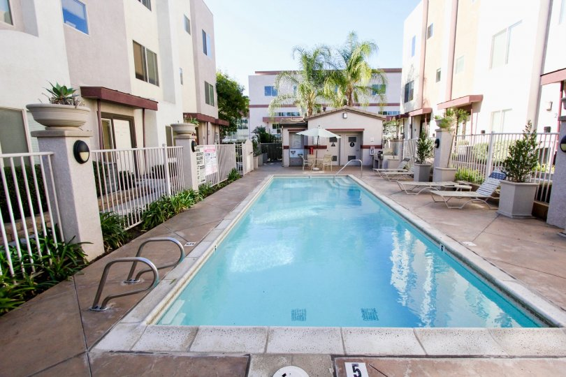 Unbeatable view of  Swimming pool area at Urbana at Citracado Village, Escondido, California