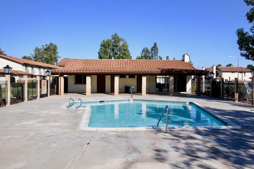 Villa Espanas, Escondido , California,blue sky,trees
